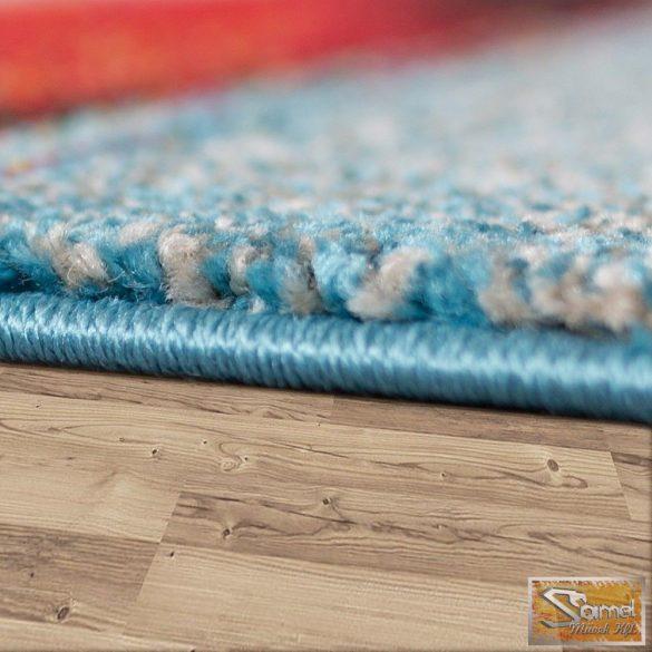 """Designer szőnyeg """"olajfestmény"""", kék-piros-sárga-fehér"""