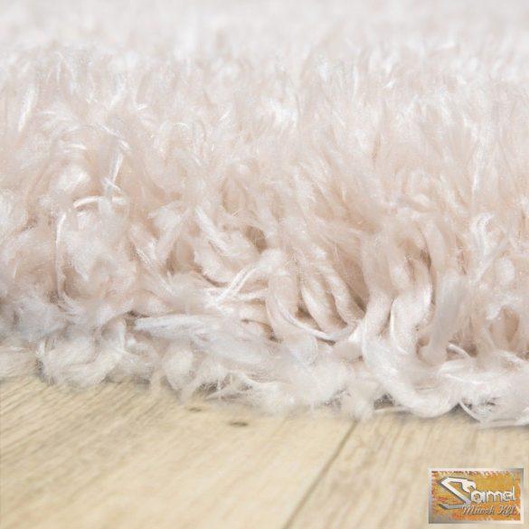 Szőnyeg mesterséges szőrme, hosszú bolyhos bézs