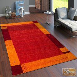 100% gyapjú szőnyeg, terrakotta-narancs