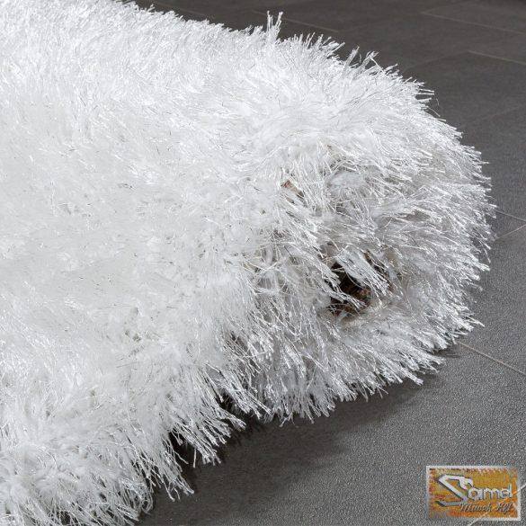 Shaggy szőnyeg, hosszú bolyhos, fehér 70 mm