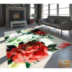 Designer virág mintás szőnyeg