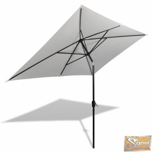 Vid szögletes napernyő 200x300cm homok fehér