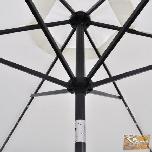 Vid led konzolos napernyő 3m homok fehér