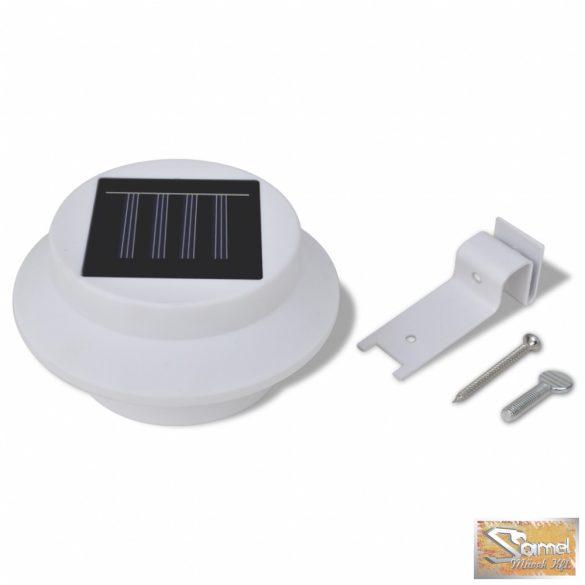 Vid külső napelemes lámpa fehér fénnyel 6 db