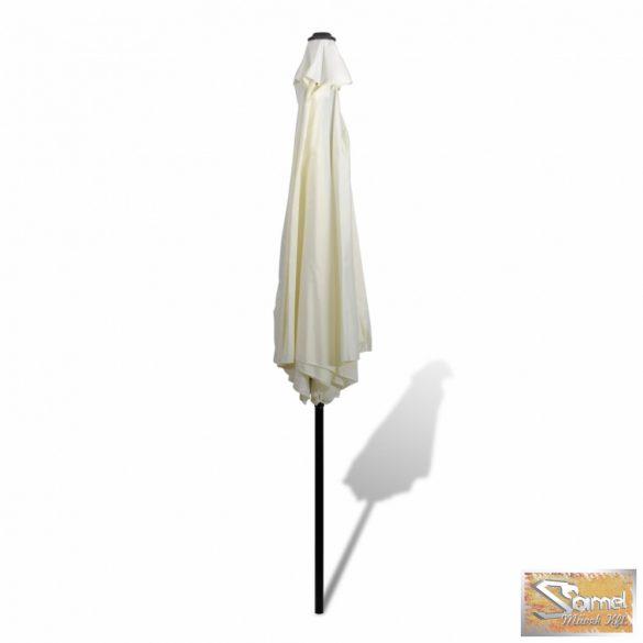 Vid napernyő acél cölöppel 3m fehér