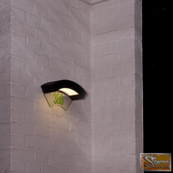 Vid canning fali lámpa házszámmal 240V