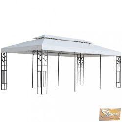 VID fehér pavilon 180 g/m² 3 x 6 m
