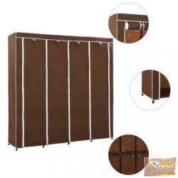 VID barna ruhásszekrény 4 tárolórekesszel 175 x 45 x 170 cm