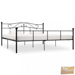 VID fekete fém ágykeret 200 x 200 cm
