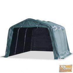 VID sötétzöld elmozdítható pvc állattartó sátor 550 g/m² 3,3 x 4,8 m