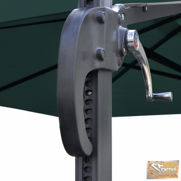 Vid négyzet konzol napernyő 2,5 x 2,5m Zöld