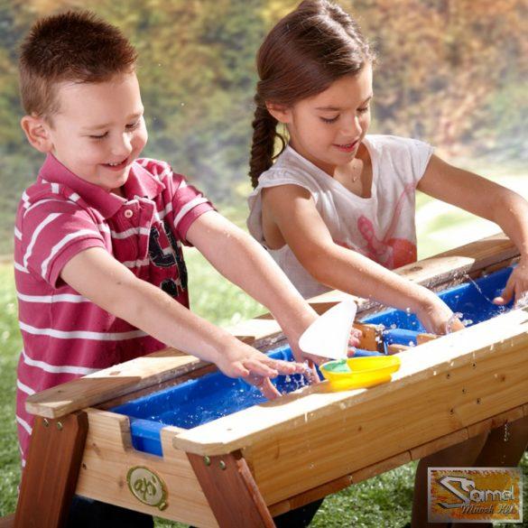 Vid homokozó- / vizi játék- piknik asztal napernyővel