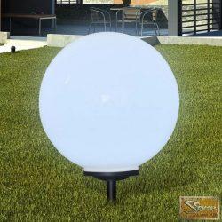 Napelemes Gömb kültéri lámpa LED égő 50 cm 1 db Cövekkel