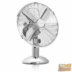 Vid silver fém asztali ventilátor