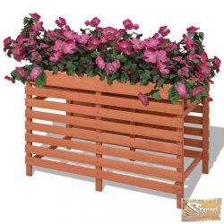 VID 100x50x71 cm fa virágtartó