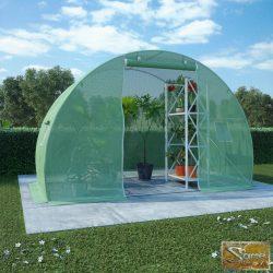 VID 4,5 m²-es acélalapzatú melegház 300 x 150 x 200 cm