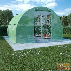 VID 9 m²-es acélalapzatú melegház 300 x 300 x 200 cm
