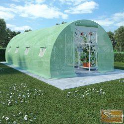 VID 18 m²-es acélalapzatú melegház 600 x 300 x 200 cm