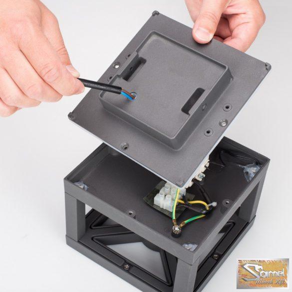 Vid antracit 9 W-os smartwares led fali lámpa gwi-004-hs