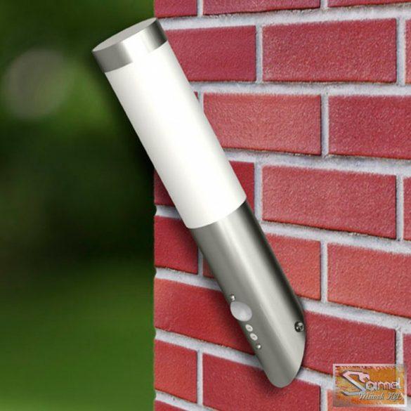 Vid rozsdamentes acél mozgás érzékelős fali lámpa 2db
