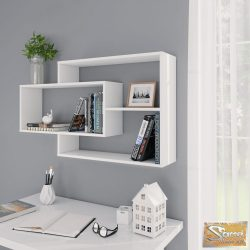 VID fehér forgácslap fali polcok 104 x 20 x 60 cm