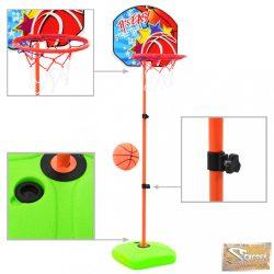 VID gyerek-kosárlabdagyűrű- és labdaszett