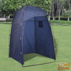 Vid tusoló/öltöző sátor kék