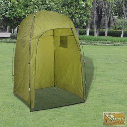 Vid tusoló/öltöző zöld sátor